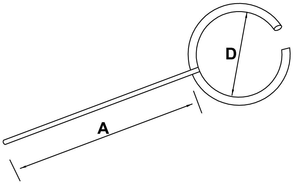 pierścienie otwarte - schemat