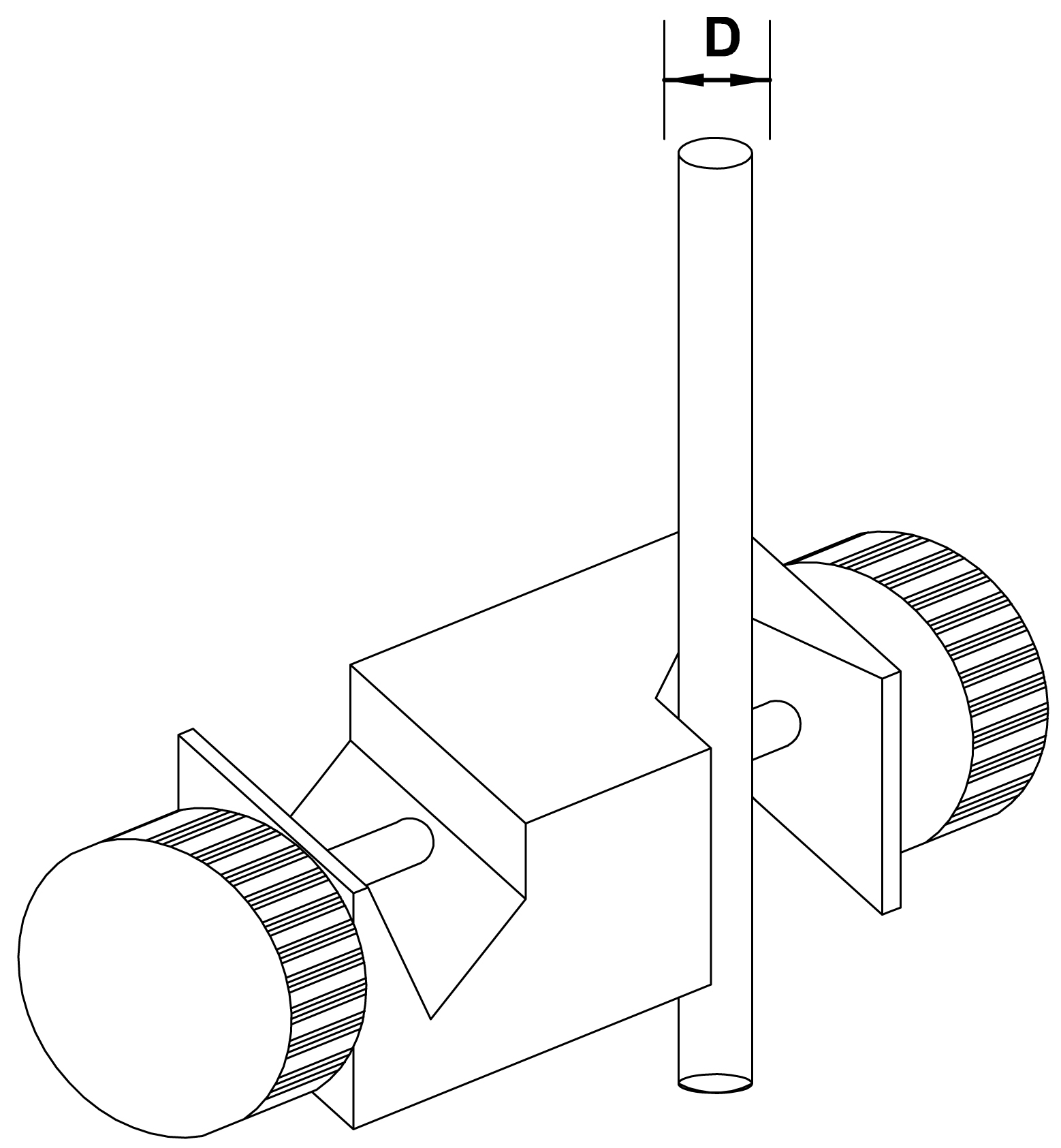łącznik pełny typ C - schemat